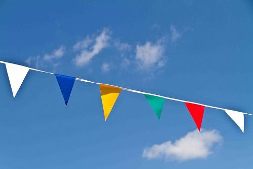 דגלים צבעוניים